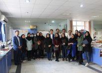 بازدید علمی دانشجویان رشته مهندسی پزشکی دانشگاه کسری  از تجهیزات تخصصی تشخیصی و درمانی بیمارستان امام سجاد (ع) رامسر