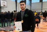 کسب مدال طلای آقای سید نوید میرحسینی  ◀️ در مسابقات تک لیفت قدرتی انتخابی کشور در استان مازندران